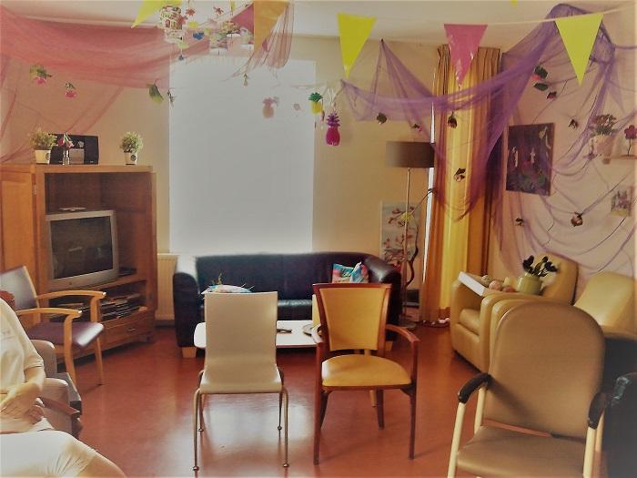 Huiskamer show voor mensen met een verstandelijke beperking in Velp