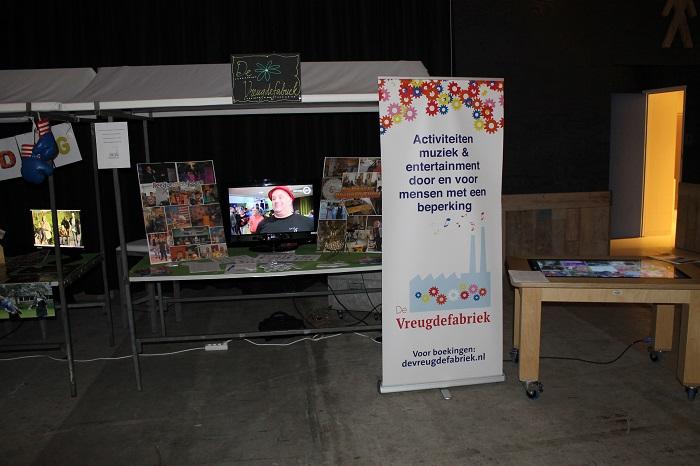 Nieuwjaarsfestival druk bezocht, het promotieteam van de Vreugdefabriek was erbij