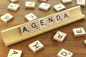 Onze agenda